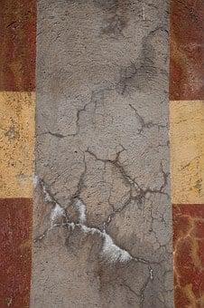 Texture, Concrete, Closeup, Stripes, Grudge, Broken