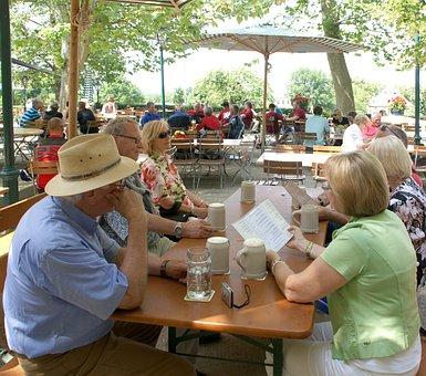 Summer, Beer Garden, Celebrate, Human, Beer