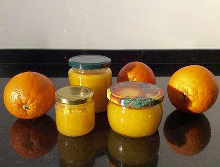 Oranges, Orange Marmalade, Delicious, Jam, Sweet