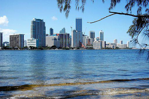Miami, Ocean, Florida, Beach, Tourism, Destination, Sea