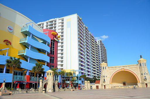 Daytona Beach, Florida, Resort, Vacation, Tourism