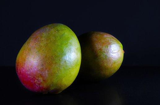 Mango, Tropical Fruit, Fruit, Ripe, Vitaminhaltig