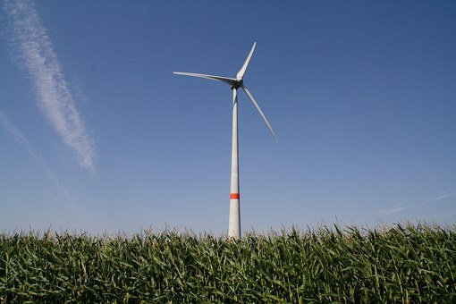 Pinwheel, Field, Fields, Wind Energy, Sky, Wind Power