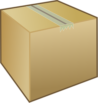 Box, Cardboard, Closed, Carton, Moving, Taped, Package