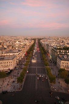 Dss Elysian Fields Avenue, Paris, France, City