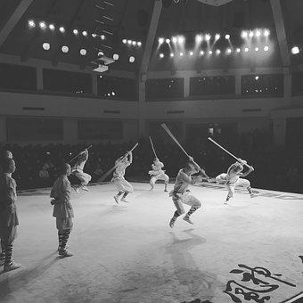 Shaolin, China, Monk, Shaolin Monk, Fight, Festival