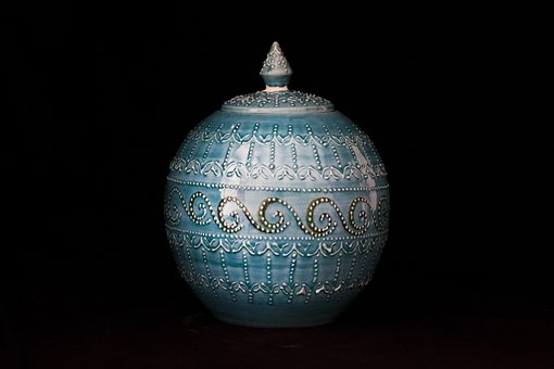 Tile, Handicrafts, Increased, Vase, Ceramic, Turkey