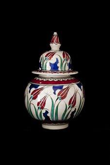 Tile, Handicrafts, Increased, Bowl, Ceramic, Turkey