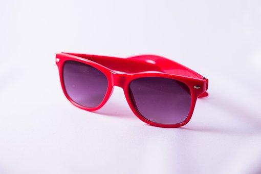 Sunglasses, Sun, Red, Summer, Merry