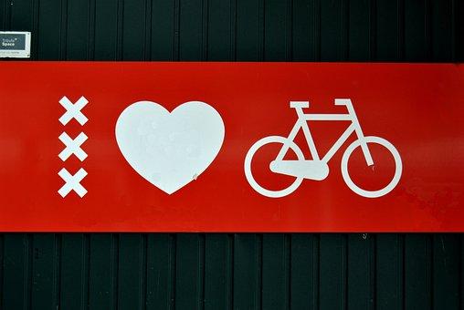 Amsterdam, Biciclete, Love