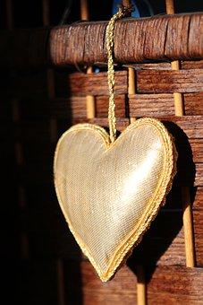 Heart, Basket, Wicker, Love, Shape, Rustic, Valentine