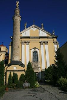 Polish Cathedral, Kamieniec, Ukraine