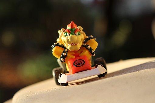 Bowser, Kart, Toy, Sun, Fictional Person, Nintendo