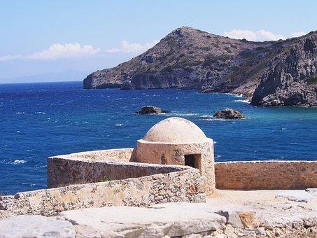 Greece, Island, Crete, Sea, Landscape, Holidays, Nature