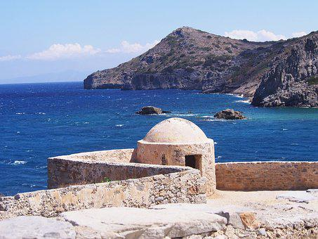 Greece, Island, Crete, Sea, Landscape, Holidays, Nature