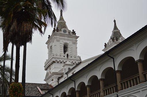 Church, San Francisco, Quito, Backyard