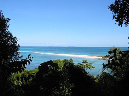 Madagascar, Beach, Sea, Tropical, Sand, Tropic