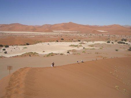 Desert, Eisamkeit, Sand