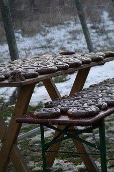 Winter, Boudin, Frost