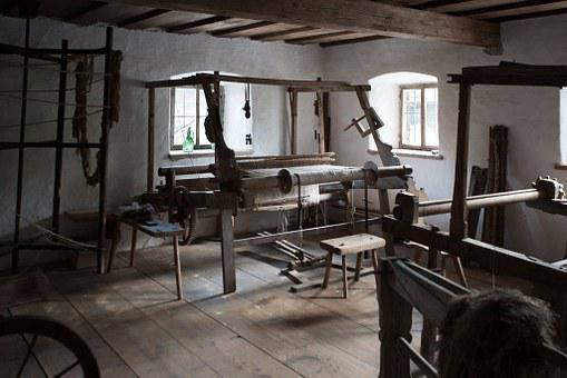 Traditional Weaving Room, Austria, Indoors