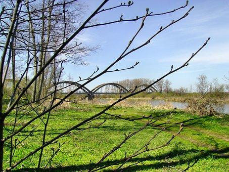 Białobrzegi, Vistas, Water