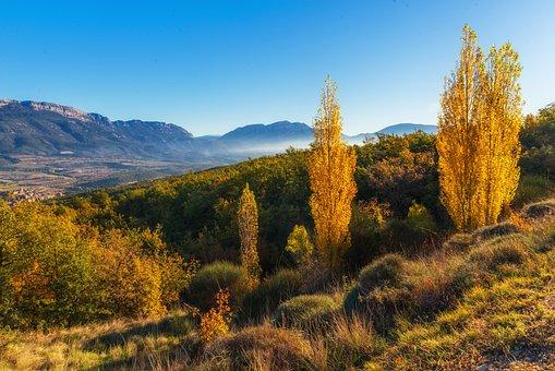 Landscape, Autumn, Ager