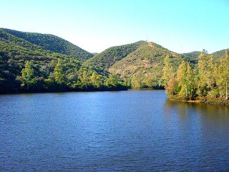 Guillena, Lake, Nature