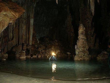Cave, Cueva Dels Coloms, Mallorca