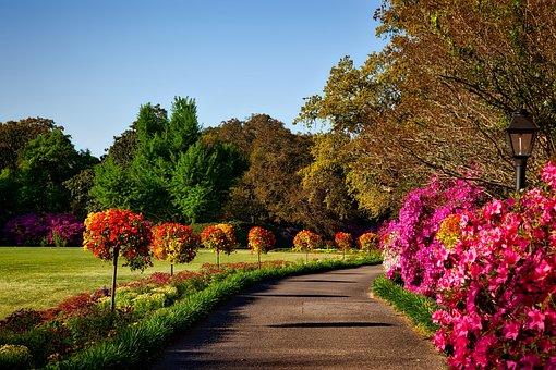 Bellingrath Gardens, Alabama, Landscape, Scenic, Nature