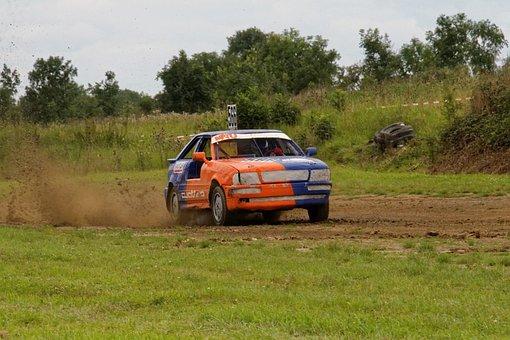 Autocross, Motorsport, Audi, Coupe, Quattro, Race