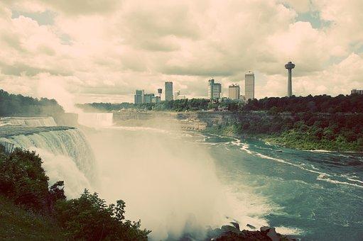 Niagara, Niagara Falls, Buffalo, New York, Canada, Usa