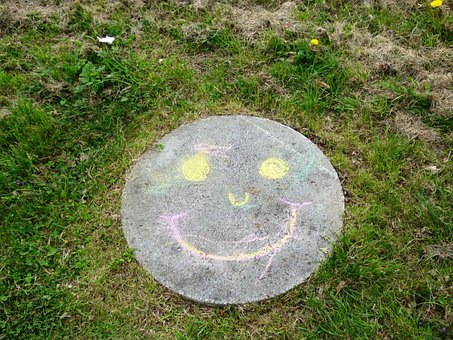 A Smile, Fun, Chalk, Figure, Channel, Park, Mood, Green