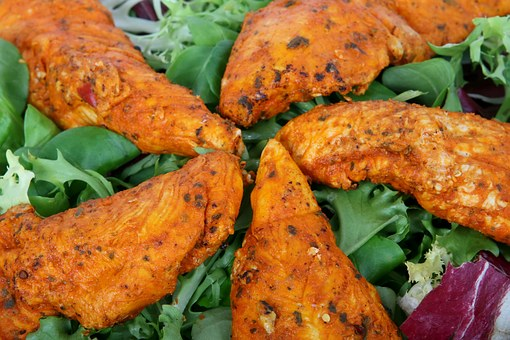 Appetite, Catering, Chicken Salad, Colorful, Cookery