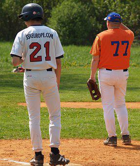 Baseball, People, Sport, Player, Activity, Game, Ball