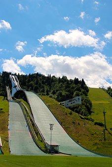 Ski Resort, Garmisch Partenkirchen, Ski Jumping, Summer