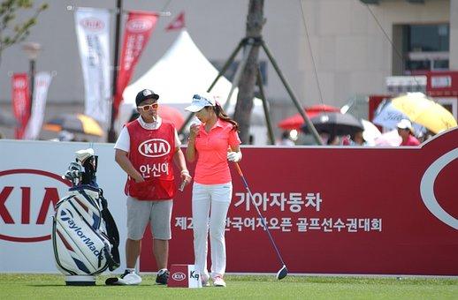 Golf, South Korea Women's Open, Not Out
