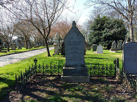 Graveyard, Cemetery, Funeral, Grave, Gravestone, Burial