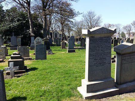 Cemetery, Headstone, Graveyard, Grave, Funeral, Grass