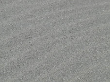 Sand, Fine Grain, Grey, Fine