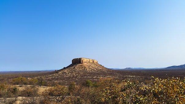 Africa, Namibia, Heiss, Nature, Karg, Shrubs