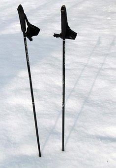 Ski Poles, Trekking, Hiking, Poles, Nordic Walking