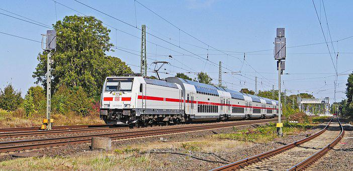 Intercity, Double Decker, Db, Deutsche Bahn