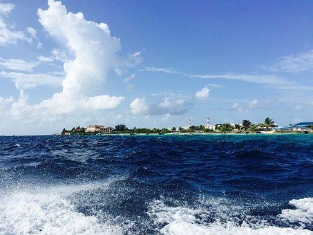 Water, Water Boat, Island, Maldives, Sea, Holiday