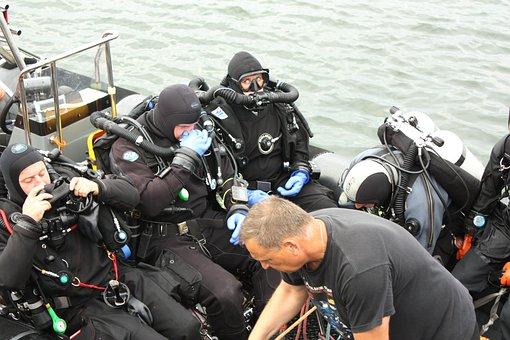 Diver, Divers, Hobby, Water, Dive, Leisure, Fun, Swim