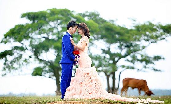 Couple, Wedding, Nice Picture, Lover, Valentine