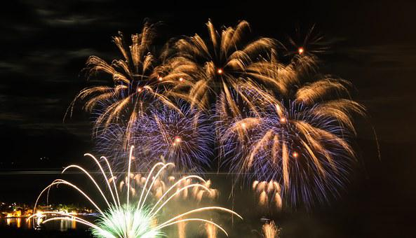 Fireworks, Blast, Light, Lights, Mystic, Night Picture