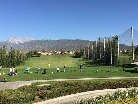 Golf, Driving Range, Course, Practice