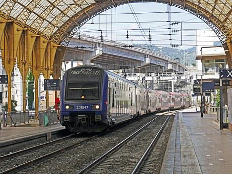 Concourse, Doppelstockzug, Regional Train, Transport