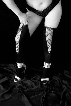 Sensual, Sensuality, Black And White, Body