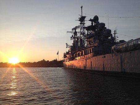 Boat, Water, Ship, Buffalo, Sea, Transport, Nautical
